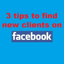 find new clients on facebook