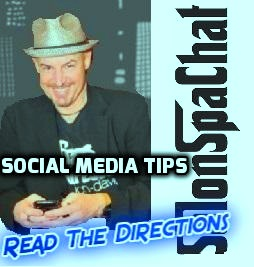 social media tips read the directions