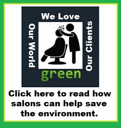 Salons are going green!