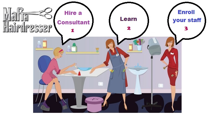 Hire a social media consultant for salons