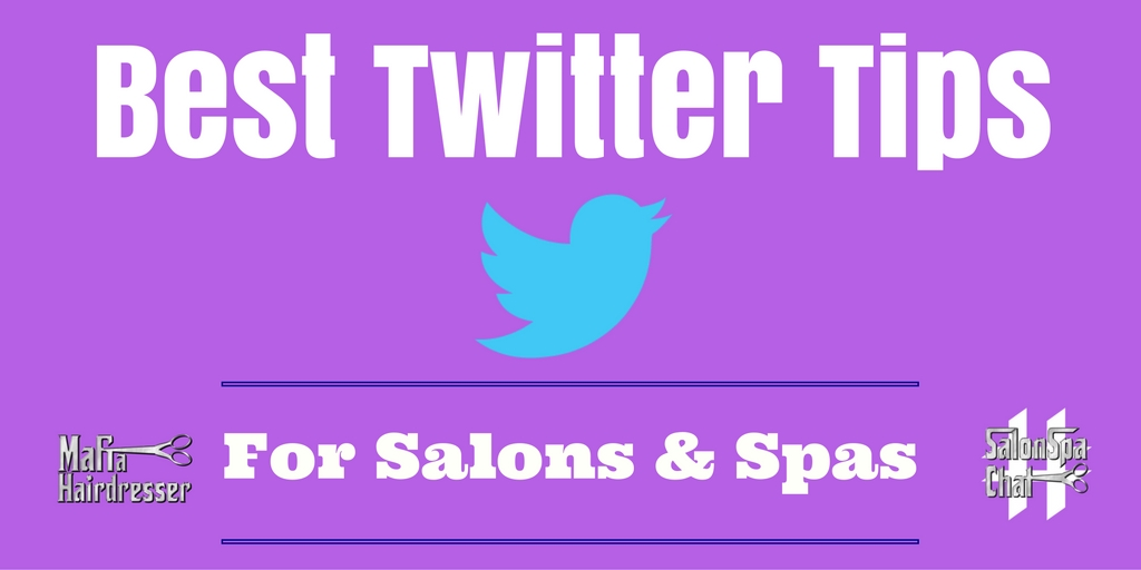 twitter tips for salons