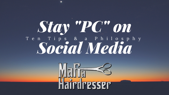 successful salon Tips stay PC on social media