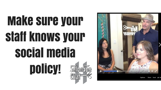 salon Social Media Policy 2